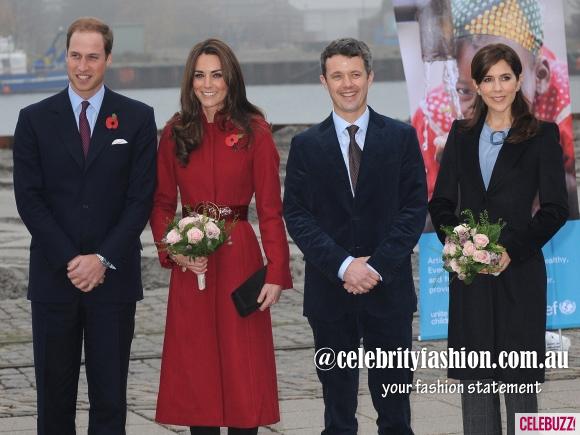 Kate-Middleton-Prince-William-Visit-Denmark-UNICEF-Center-580x435