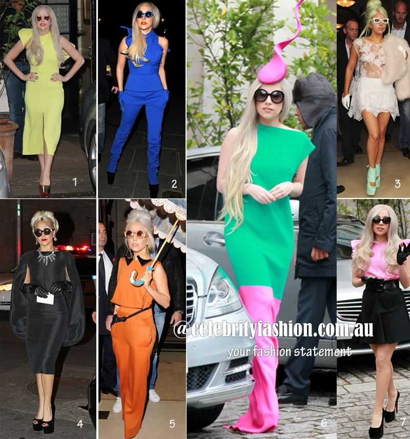 Lady gaga new looks copy