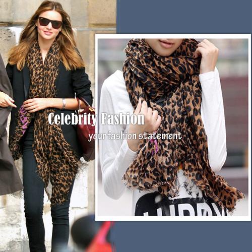 Leopard scarf AU$22.99
